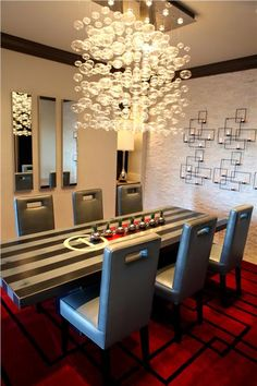 Private Contemporary Dining Room by shirry dolgin