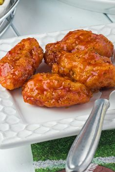 Crispy Boneless Buffalo Chicken Wings
