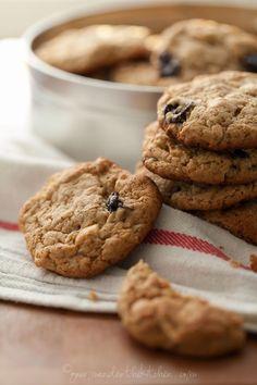Cherry Cashew Cookies | Gourmande in the Kitchen (Gluten-Free, Grain-Free, Paleo)