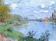 Les Bords de la Seine à la Grande Jatte (C Monet - W 460)1878.
