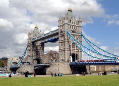 Tower Bridge in London...Get insider travel tips for London here: http://www.ytravelblog.com/things-to-do-in-london/ #travel