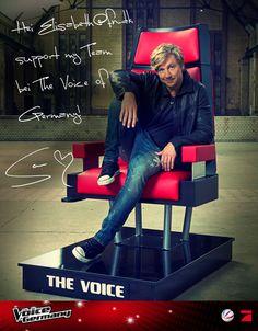 Samu er den sjoveste og sejeste coach i The voice of Germany