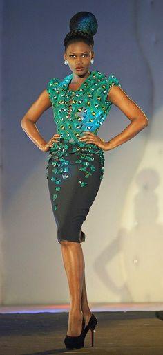 Ivorian designer gilles toure ´s style