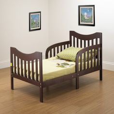 Gorgeous Orbelle Slumberland Convertible Toddler Bed Offers Solid Wood Construction in Cool Espresso Finish For Toddler Boys Room. Ikea Toddler Bed, Toddler Twin Bed, Toddler Furniture, Toddler Rooms, Nursery Furniture, Kids Rooms, Convertible Toddler Bed, Bed Rails For Toddlers, Ikea Bed