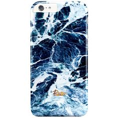 Surf / iPhone Marble Case (46 CAD) ❤ liked on Polyvore featuring accessories and tech accessories