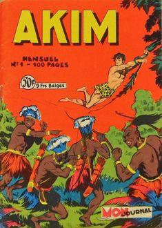 Akim (1re série) -1- Akim, fils de la jungle