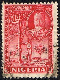 Nigeria 1936 King George V Cocoa SG 35 Fine Used Scott 54 Other Nigerian Stamps HERE