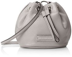 Marc by Marc Jacobs Too Hot To Handle Mini Drawstring Cross Body Bag, Storm Cloud, One Size