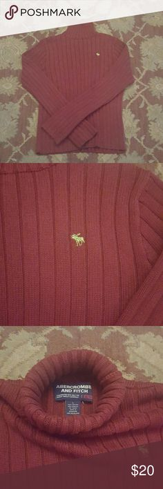Abercrombie and Fitch turtle neck sweater. Abercrombie and Fitch turtle neck sweater size Large Abercrombie and Fitch Sweaters Turtleneck