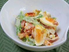 「カリカリベーコンとアスパラの卵サラダ」 レシピ・作り方 by Startrek|楽天レシピ