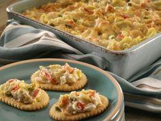 Creamy Crab and Artichoke Dip - Recipe.com (via @Kristján Örn Kjartansson Parsons.com)