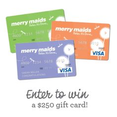 Enter the #MerryMaids Spring Cleaning sweepstakes for your chance to win