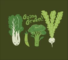 Going Green Foodie Fun