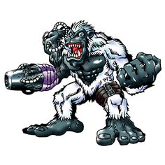 Gorillamon - Champion level Beast digimon