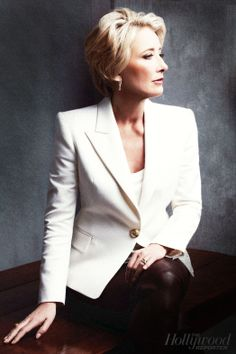 Emma Thompson for the Hollywood Reporter (Nov. 25, 2013)