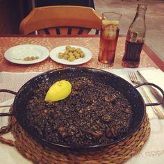 Madrid - black paella