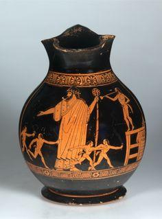 Attic Oinochoe 460 BC. © Foto: Antikensammlung der Staatlichen Museen zu Berlin - Preußischer Kulturbesitz