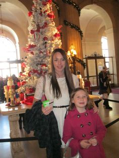 Gabby & Lexie in San Francisco For The Nutcracker Ballet