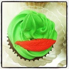 Peter Pan cupcake