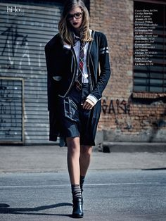 visual optimism; fashion editorials, shows, campaigns & more!: inspiração college: camila mingori by pedrita junckes for marie claire brazil june 2014