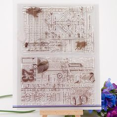 [Visit to Buy] NCraft Clear Stamps N5017 Scrapbook Paper Craft Clear stamp scrapbooking #Advertisement