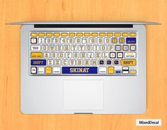 Sticker pour clavier : L.A. Lakers