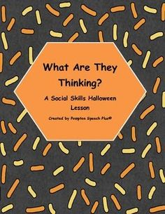 Free Social Skill Lesson for Halloween