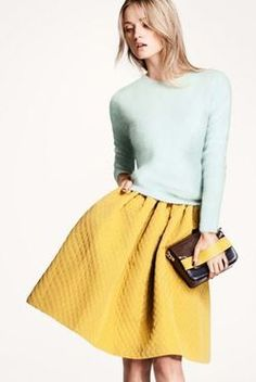 Mint + Yellow