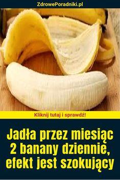 Jadła przez miesiąc 2 banany dziennie, efekt jest szokujący Hair Beauty, Fruit, Health, Food, Beautiful, Health Care, Essen, Meals, Yemek