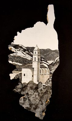 Corsica, Atelier D Art, No Mans Land, Cool Countries, Illustrations, Provence, Vintage Posters, Animals And Pets, Tatoos