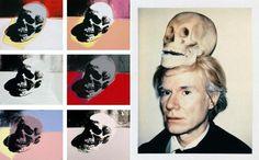 Andy Warhol et ses sérigraphies Skull dans les années 1970