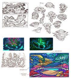 Razmig Mavlian:      ONCE UPON A MONSTERA coral-themed cavern envi...
