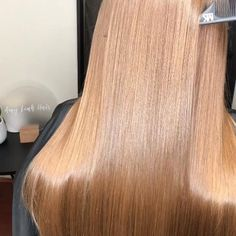Going Blonde From Brunette, Hair Smoothing, One Hair, Smooth Hair, Keratin, Straight Hairstyles, Curls, Hair Care, Hair Makeup
