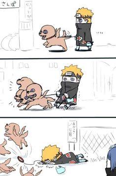 Boa! Anime Naruto, Naruto Akatsuki Funny, Funny Naruto Memes, Naruto Fan Art, Naruto Cute, Naruto Shippuden Anime, Itachi Uchiha, Manga Anime, Sasuke Sakura
