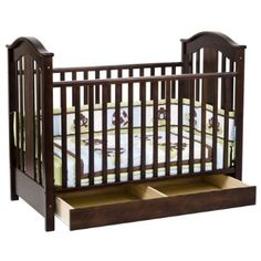 Target crib with under bed drawer