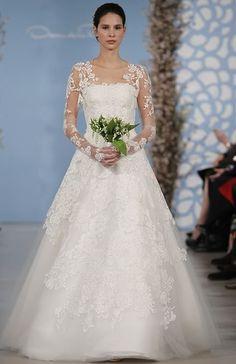 Oscar de la Renta - Ashton | featured by Ultimate Bride | ultimatebride.inquirestyle.com
