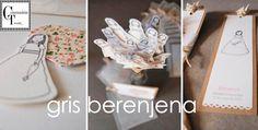 Queremos que conozcáis una marca de invitaciones y recordatorios de Comunión que nos ha fascinado. Se llama Gris Berenjena y a través de las imágenes que hemos visto en su web seguro que muchas mam...