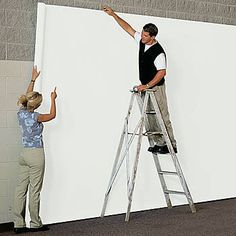$36.99 Our White Seamless Paper allows to you cover a large area with ease. Each roll of White Seamless Paper measures 9 feet x 36 feet and is colored on both sides. The heavy matte finish allows you to use tempera paints, ink, chalk and other crayons on White Seamless Paper.