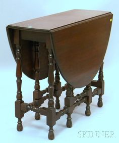Auctions william mary style mahogany dressing table