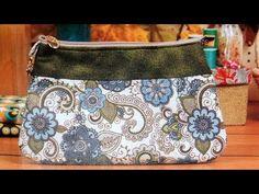 Bolsa de tecido Primavera - Maria Adna Ateliê - Cursos e aulas de bolsas de tecido e couro - YouTube