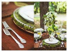 vintage garden party. so natural