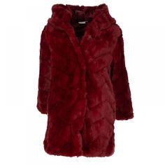 Γουνινο παλτό εβίτα 199164 μπορντό (6-16 ετών) Black Friday, Fur Coat, Jackets, Fashion, Down Jackets, Moda, Fashion Styles, Fashion Illustrations, Fur Coats