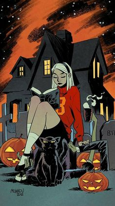 Sabrina at Halloween - Gleb Melnikov Bd Pop Art, Bd Art, Character Art, Character Design, Sabrina Spellman, Witch Art, Witch Aesthetic, Archie Comics, Xmen Comics