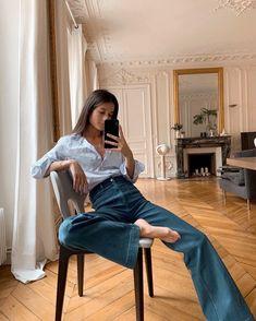 Looks Street Style, Casual Street Style, Looks Style, Parisian Street Style, Daily Street Style, Daily Style, Daily Look, Look Fashion, Daily Fashion