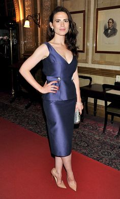 Hayley Atwell keeps impressing at events