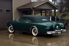 1953 Packard Caribbean Maintenance/restoration of old/vintage vehicles: the material for new cogs/casters/gears/pads could be cast polyamide which I (Cast polyamide) can produce. My contact: tatjana.alic14@gmail.com