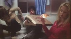 #best friend goals: eat pizza on the bathroom floor together