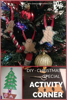 Its December& Christmas is around the corner! Get into the Christmas spirit with these DIY Christmas Special activities that you can do with your little ones. http://www.indianmomsconnect.com/2015/12/17/activity-corner-diy-christmas-special/