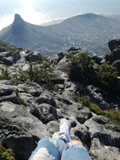 #tablemountain #southafrica Table Mountain, South Africa, Mountains, Water, Photos, Travel, Life, Outdoor, Gripe Water