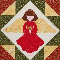 Christmas Angel Quilt Block | Quilts: Christmas Quilts ...